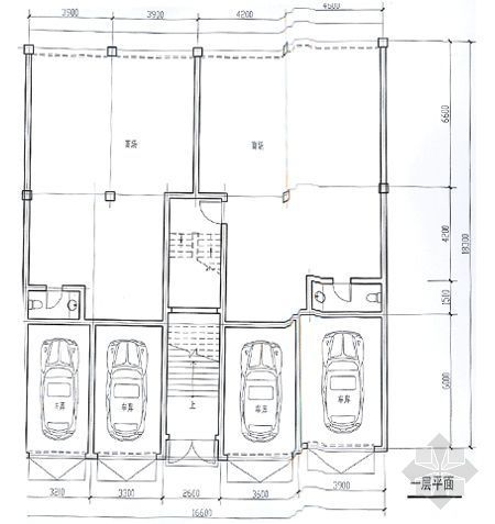 某别墅平面图及效果图10