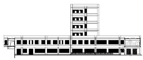 某六层传染病医院建筑施工图