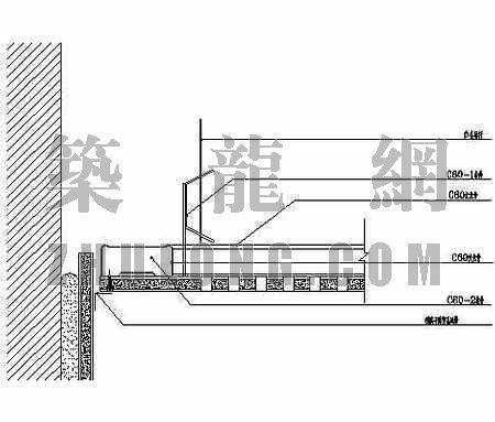 小幅纸面石膏板吊顶节点图1
