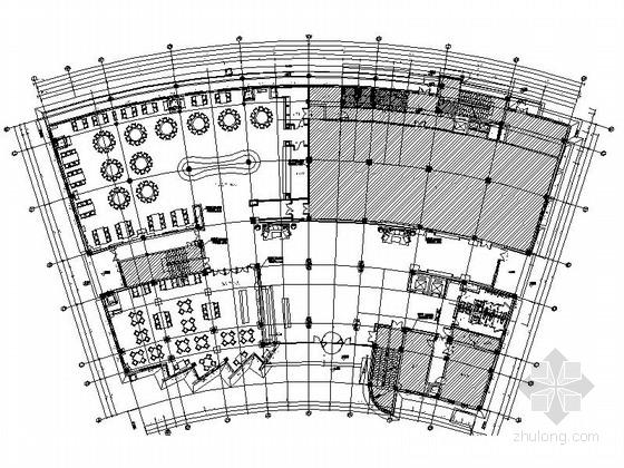 [厦门]高档奢华休养度假酒店餐饮楼室内设计方案