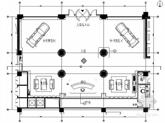 现代办公楼大厅室内装修图