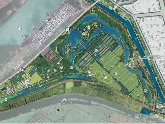 [山东]田园式生态湿地旅游景区景观规划深化设计方案