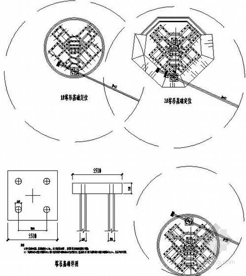 [天津]住宅工程塔吊基础施工方案(布置图)