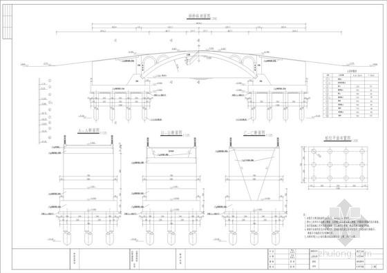 1-24m钢筋混凝土板拱桥全套施工图