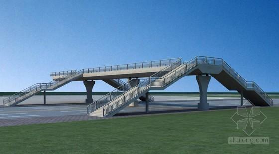 80m钢结构连续梁人行天桥施工方案(64页)