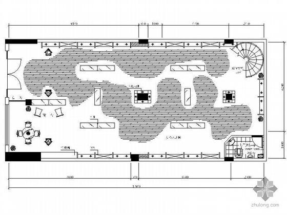 工艺品专卖店设计图(含效果)