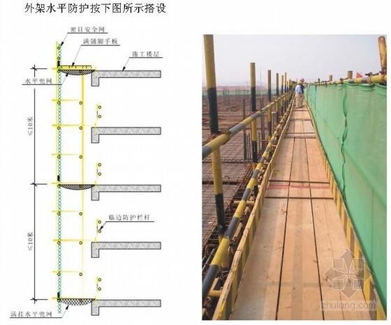 [贵州]高层住宅楼落地式双排钢管脚手架施工方案