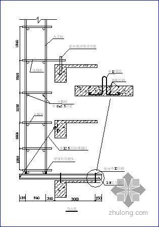 烟台某住宅项目脚手架施工方案(悬挑式、落地式)