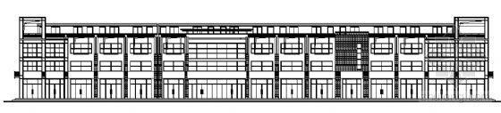 山东香港五金家居城B13-1块改造工程建筑施工图