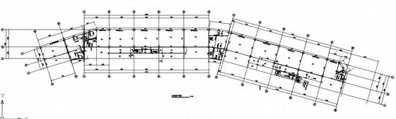 [北京]某三层钢框架结构商务综合楼结构施工图(含钢构件加工详图)