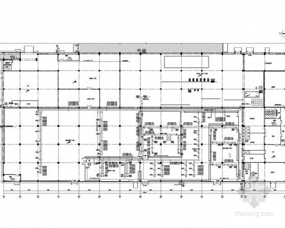 [江苏]多层工业建筑给排水消防施工图(循环冷却水系统)