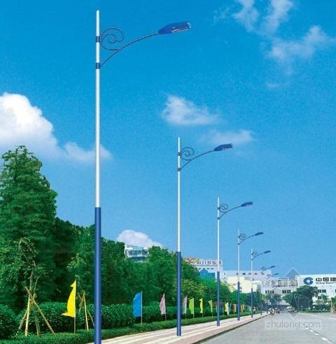 江苏某街道路灯安装施工组织设计
