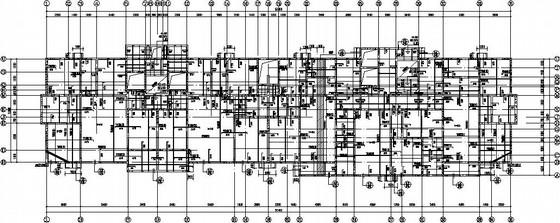 17层带储藏室地下车库剪力墙住宅结构施工图