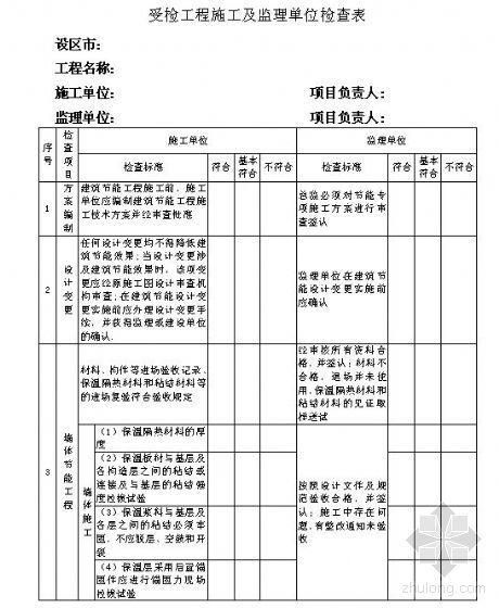 [江西]民用建筑外墙外保温工程施工质量验收规程及相关表格