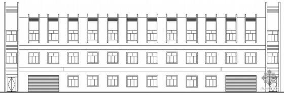 [东莞]某三层厂房建筑施工图