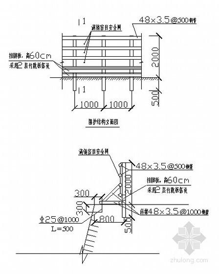 [重庆]市政管网基坑开挖支护施工方案(应急预案)