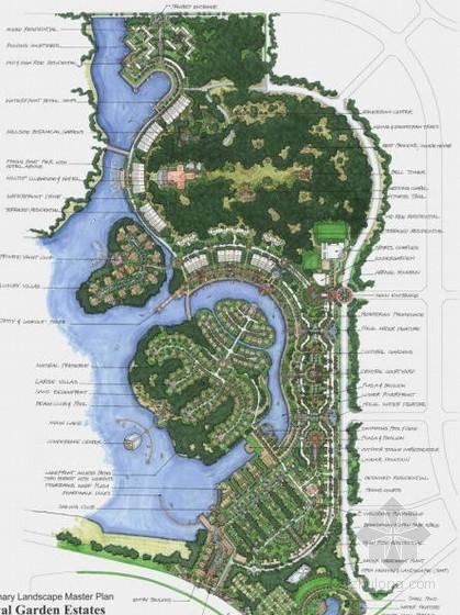 垂钓码头景观设计方案
