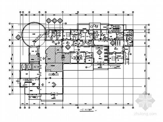 [广州]某医院装修室内设计图