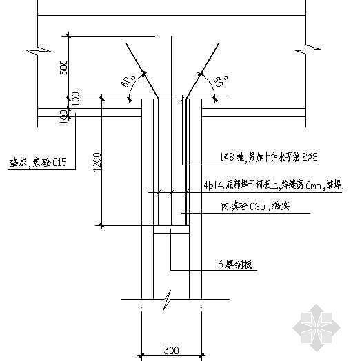木亭结构配筋详图-2