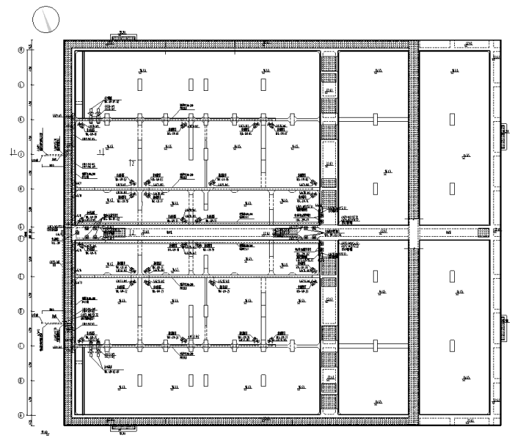 广东省污水处理厂项目电气施工图