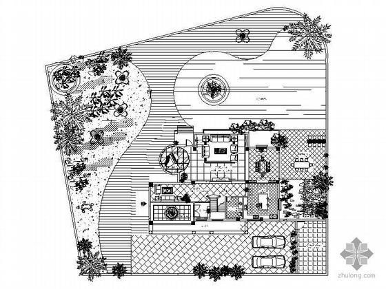 [北京]某庄园别墅装修图