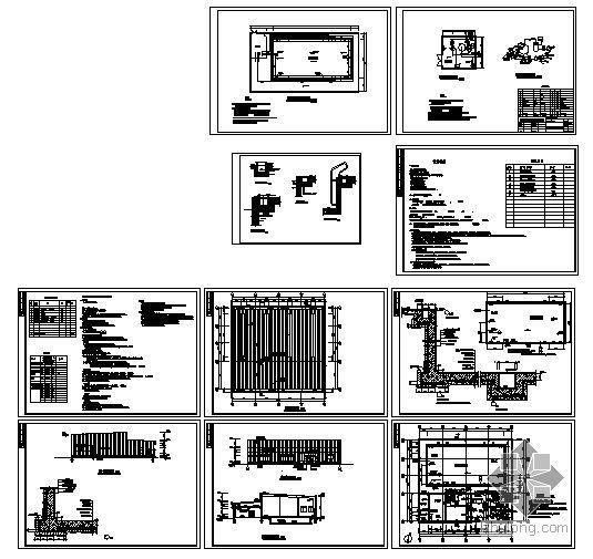 [广东]某综合消防池建筑结构施工图-4