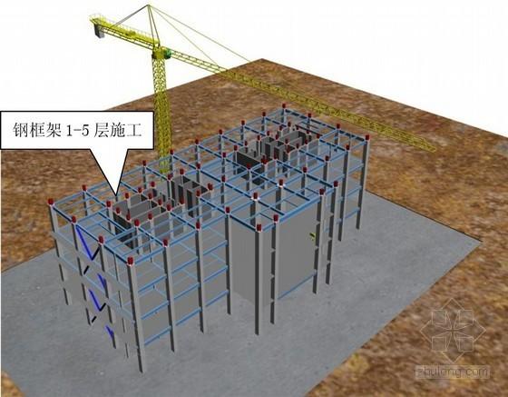 [新疆]钢框架钢支撑结构超高层综合办公楼施工组织设计(283页 附图较多)