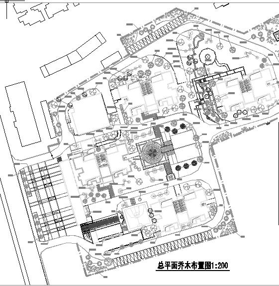 [重庆]某绿化图纸工程招标楼房(含施工图纸)-招点景观接水装修文件图片