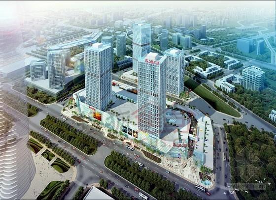 [广东]2015年广场文化活动中心装修工程概算书(附施工图纸软件应用)