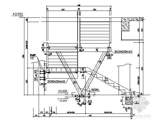 混凝土钢结构楼梯详图大全(22个)