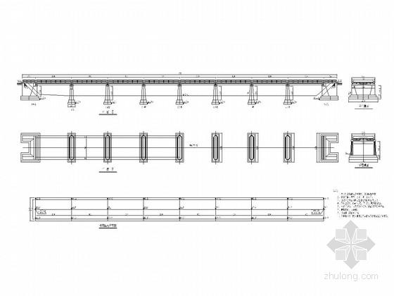 8-13米钢筋混凝土板桥全套施工图(24张)