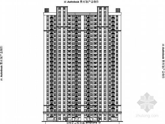 [浙江]生态园地块旧村住宅社区改造设计施工图(2015年图纸 含效果图)