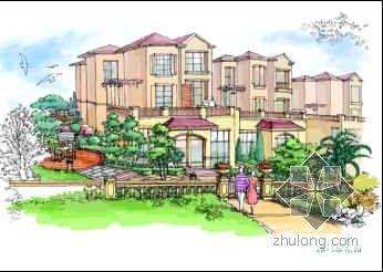 某别墅花园景观方案设计