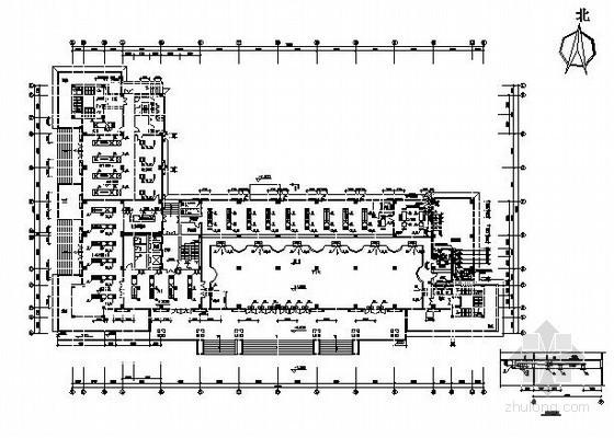 某银行分行的通风、空调、防排烟及人防施工设计图纸