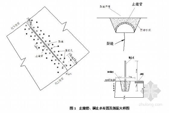 [贵州]大坝高程裂缝处理措施(水利枢纽)