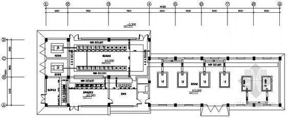 水质净化厂变配电间电气设计图纸