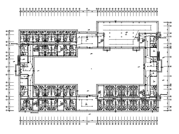 江西学校多层宿舍楼电气施工图(图审回复+综合楼全套见文末关联资料)