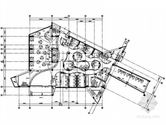 [成都]流线型时尚国际会所三期施工图(含实景图)