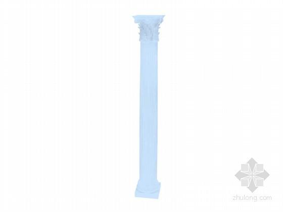 漂亮罗马柱3D模型下载