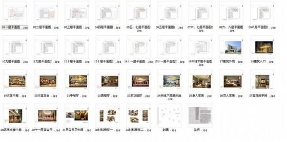 [宜昌]经济开发区核心地带五星级商务酒店方案设计 总缩略图