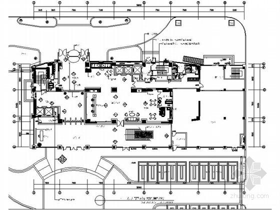 [南通]特级资质施工企业综合性集团办公楼装修设计施工图