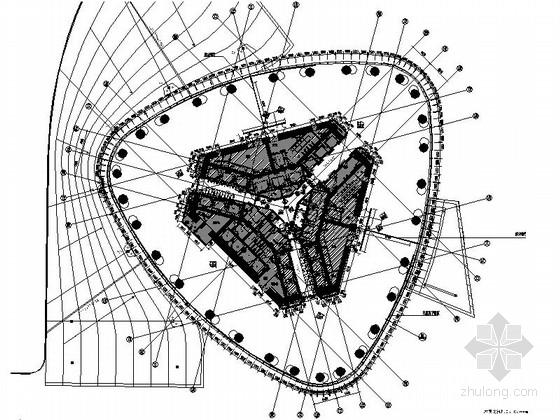 [广东]超高层金融中心办公楼设计竣工图(含效果)