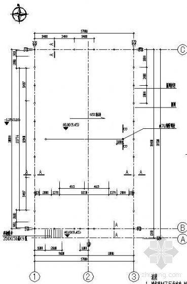某小区网球场施工图