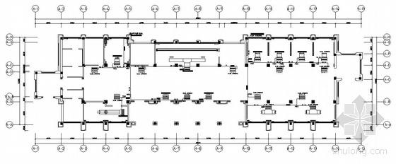 佛山某售楼部空调平面图