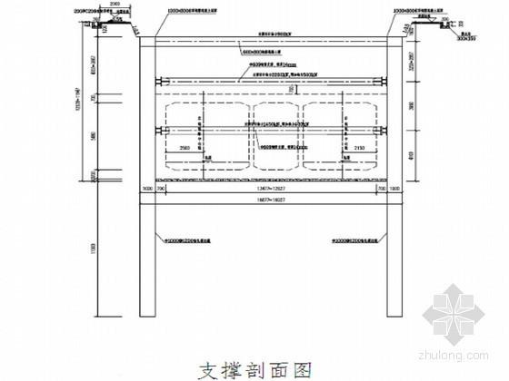 地铁明挖区间基坑开挖支护与降水施工方案(中铁)