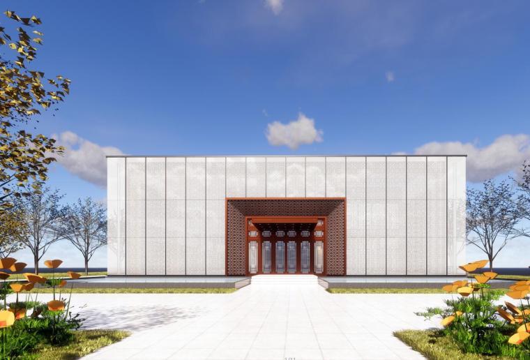 [江苏]南京万科金色半山·售楼处建筑模型设计(2018年)