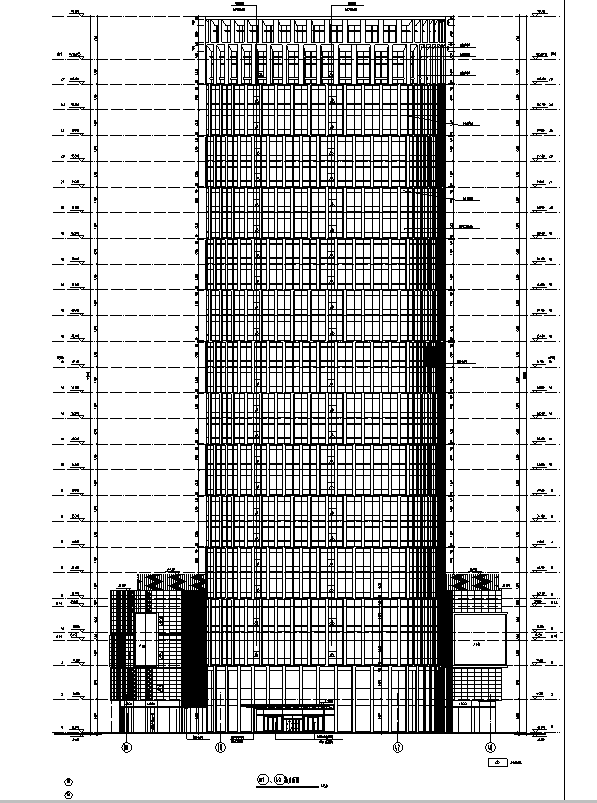 [上海]国际知名设计院办公楼最终审核图纸(16年最新)_1