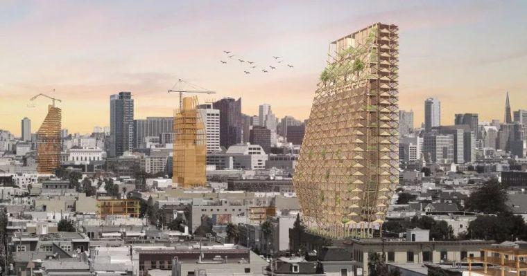 分享|木构建筑将成为未来的趋势?美国即将建造的4个大型木构建筑
