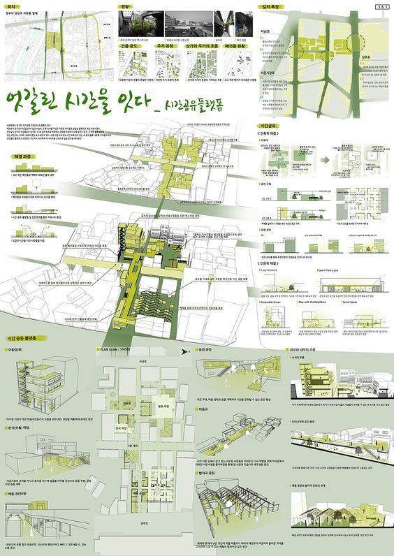 韩国顶级设计竞赛作品展板合集