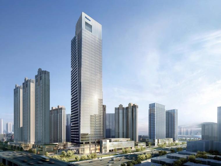[湖北]武汉海尔国际广场超高层综合体建筑模型—DC国际